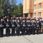 В Домодедово открылся первый казачий класс