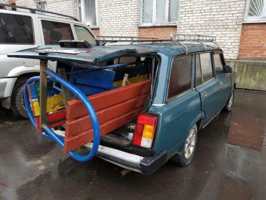 Жители Республики Молдова задержаны за кражу лавок и урн