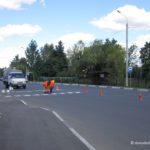 Появилась разметка дороги на улице Корнеева