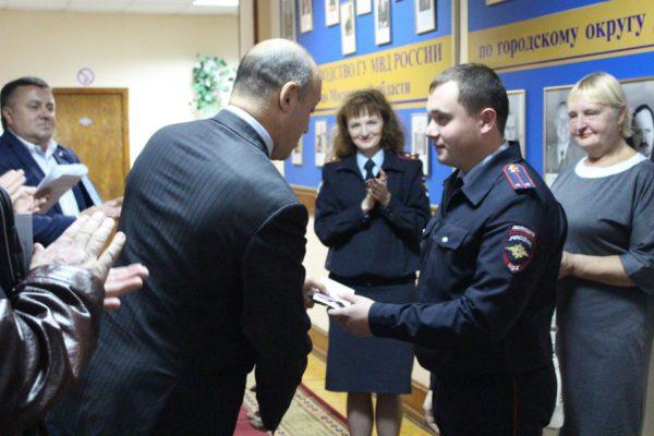 Полицейские г.о. Домодедово встретились с участниками автопробега «Москва – Калуга»