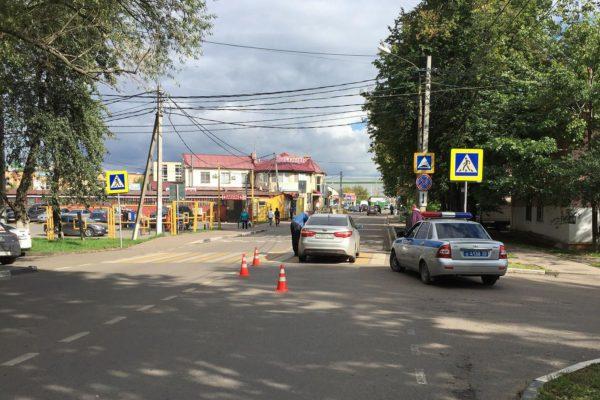 ДТП с ребенком на Кутузовском проезде