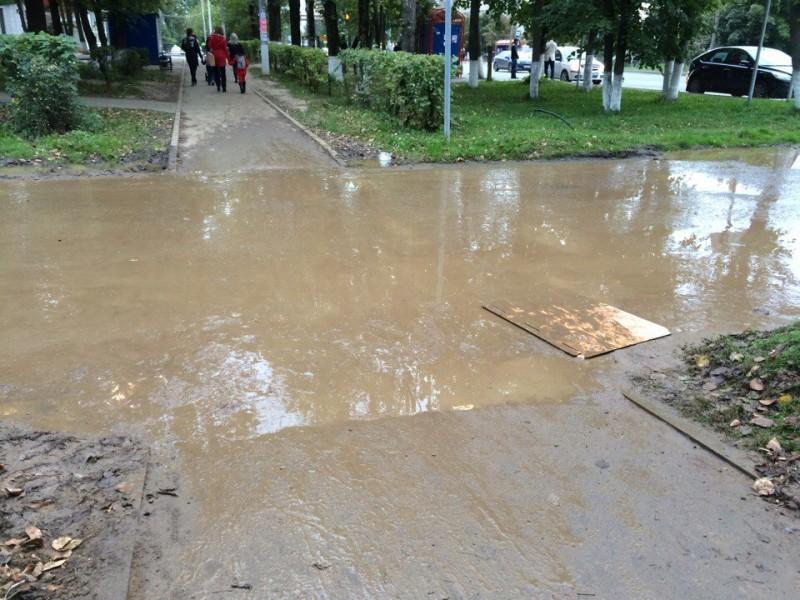 Подход к площади у ДК «Авиатор»