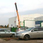 Строительство ледового дворца на улице Кирова