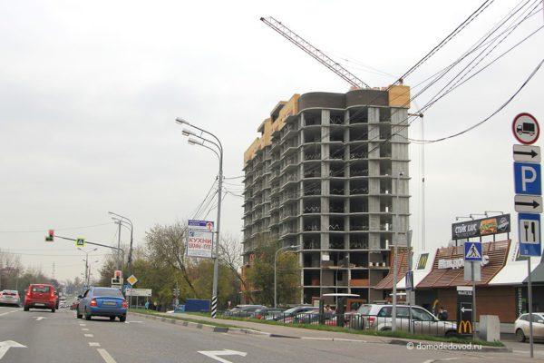 """Новостройка """"Гюнай"""" на Каширском шоссе. Октябрь 2016"""
