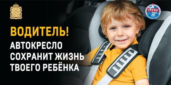 Домодедовская Госавтоинспекция напомнила водителям о правилах безопасной перевозки детей