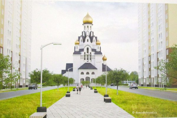 Храм в микрорайоне Южный