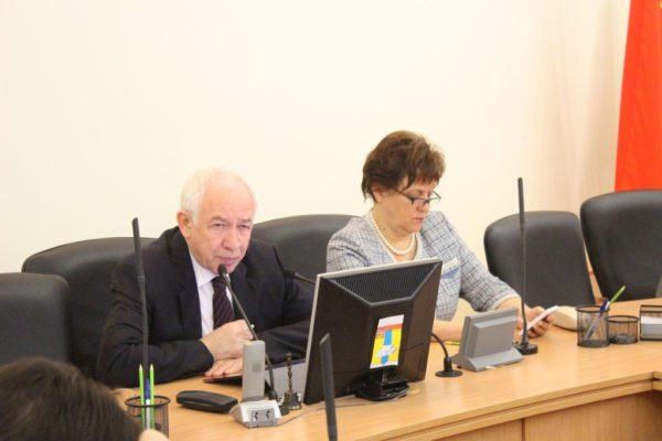 Еженедельное совещание по вопросам строительства состоялось в администрации 2 ноября