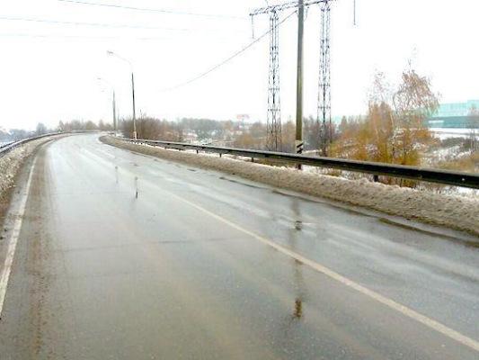 В Домодедово завершился ремонт путепровода на Каширском шоссе