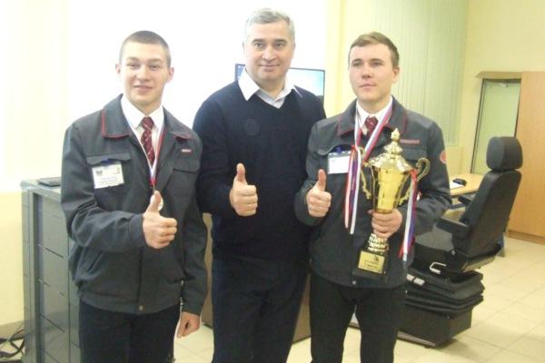 """Победа учащихся колледжа """"Московия"""""""