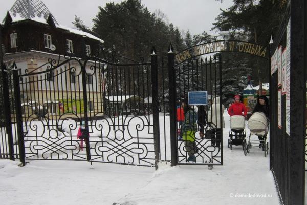 Парк «Ёлочки» зимой (2)