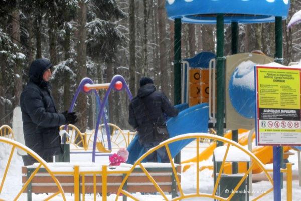 Парк «Ёлочки» зимой (13)