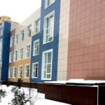 Школа в микрорайоне Западный построена