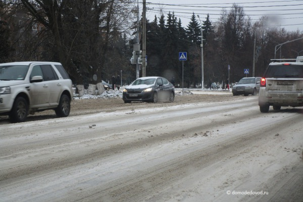 Перекресток Каширского шоссе и Советской