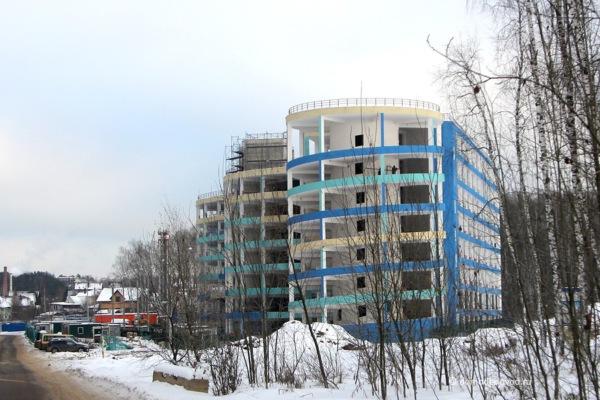Паркинг в ЖК «Любимое Домодедово»