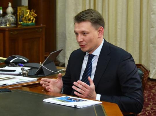 Александр Двойных отчитался перед губернатором