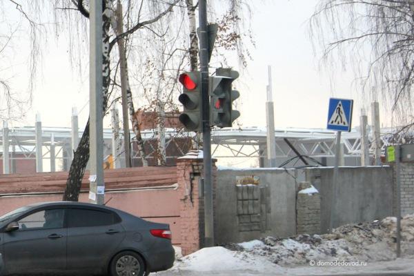 Строительство «Ленты» на улице Кирова