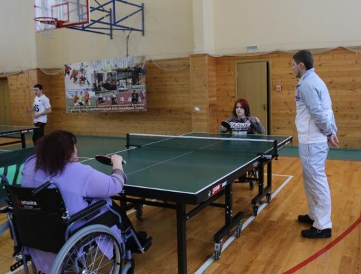 Спартакиада среди спортсменов с ограниченными возможностями здоровья