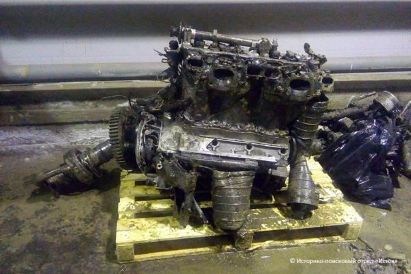 Двигатель истребителя Як-7Б