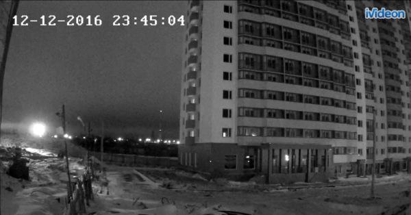 Снимок с камеры наблюдения
