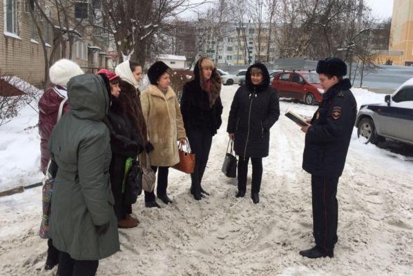 Участковые уполномоченные полиции УМВД России по г.о. Домодедово отчитались перед населением