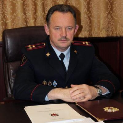 Начальник УМВД России по г.о. Домодедово полковник полиции С.П. Пехтерев