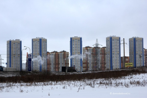 Южное Домодедово. Январь 2017