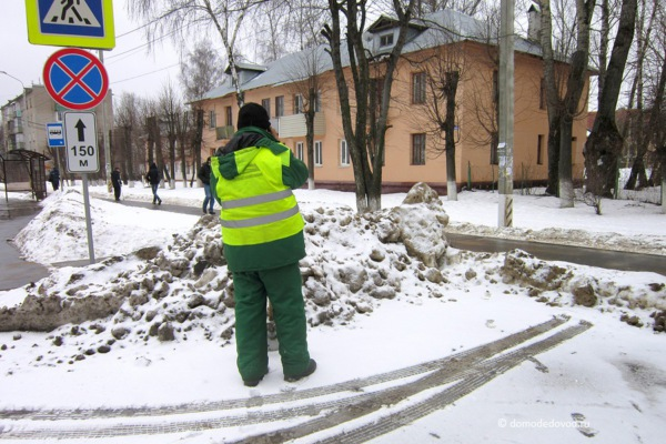 Уборка улицы Корнеева