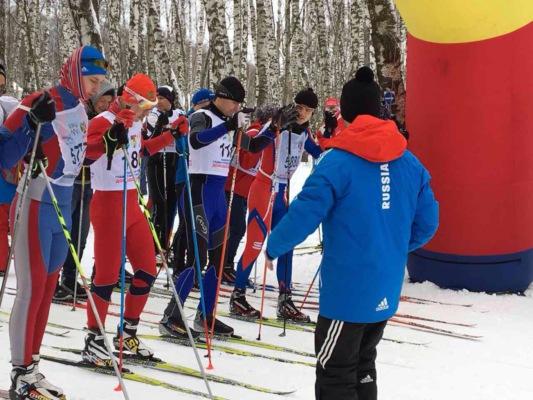Лыжники Домодедово