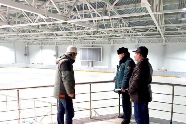 Ледовый дворец в Домодедово
