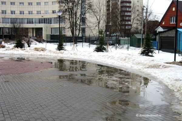 Улица Советская. Сквер памяти жертв техногенных катастроф