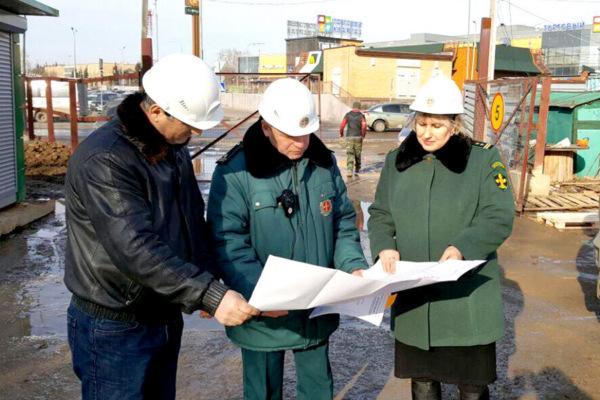 Акция чистоты и порядка «Весна на стройке» прошла на стройплощадке в Домодедово
