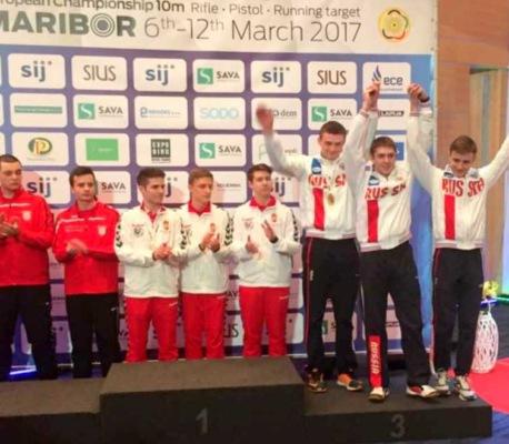 Спортсмен из Домодедово стал бронзовым призером Чемпионата Европы по стрельбе из пневматического оружия