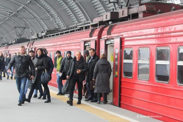 В аэропорту Домодедово открылась новая платформа «Аэроэкспресс»