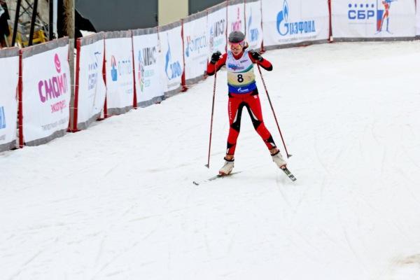 Спортсменка из Домодедово выступила на международных соревнованиях по биатлону