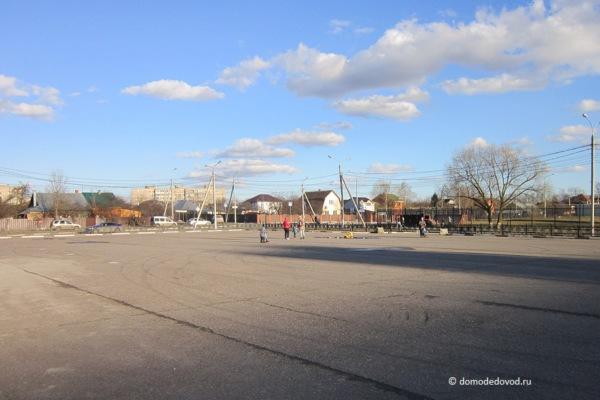 Площадка за стадионом