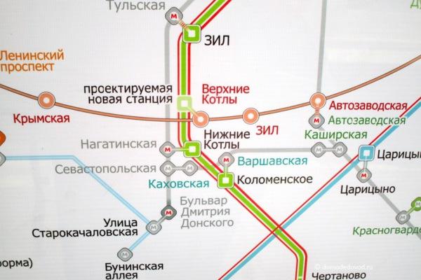 Верхние Котлы на схеме железной дороги