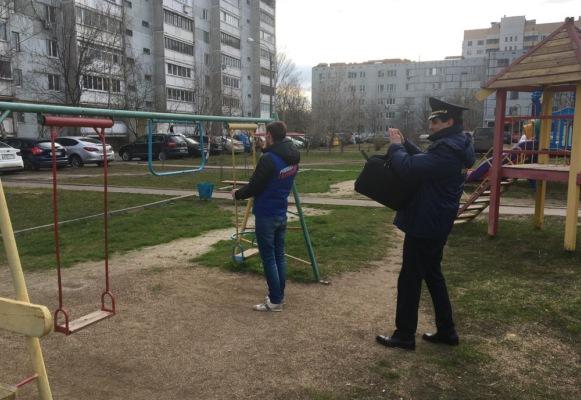 Госадмтехнадзор проверил детские площадки
