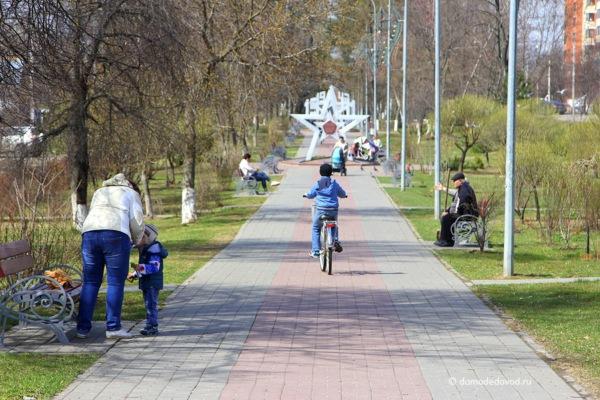 Аллея 60-летия Победы в Домодедово