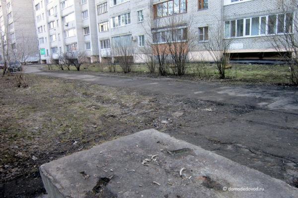 Двор. Советский проезд, д. 2 и д. 2. к. 1 (4)