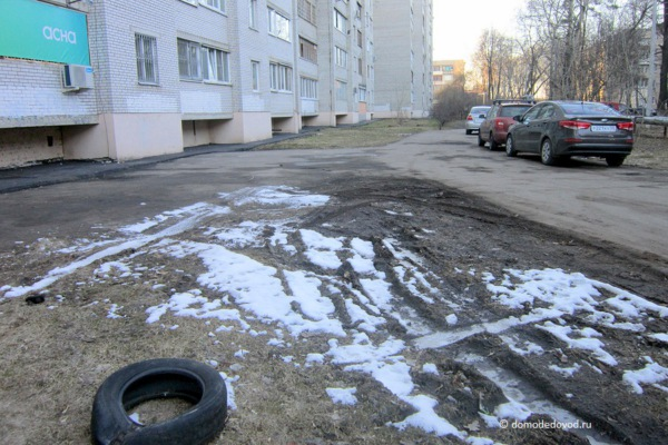 Двор. Советский проезд, д. 2 и д. 2. к. 1 (2)