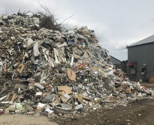 Минэкологии устанавливает организатора свалки мусора в Домодедово