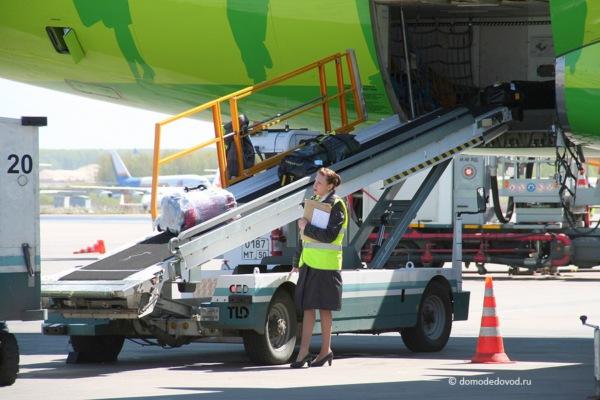 Авиакомпания S7 в Домодедово