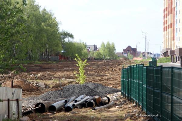 Улица Лунная. Строительство дороги под видом ремонта (12)