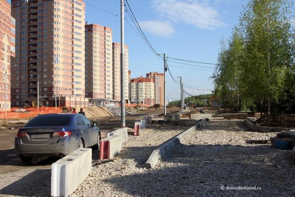 Улица Лунная. Строительство дороги под видом ремонта (10)