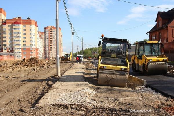 Улица Лунная. Строительство дороги под видом ремонта (9)