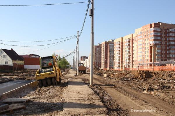 Улица Лунная. Строительство дороги под видом ремонта (8)