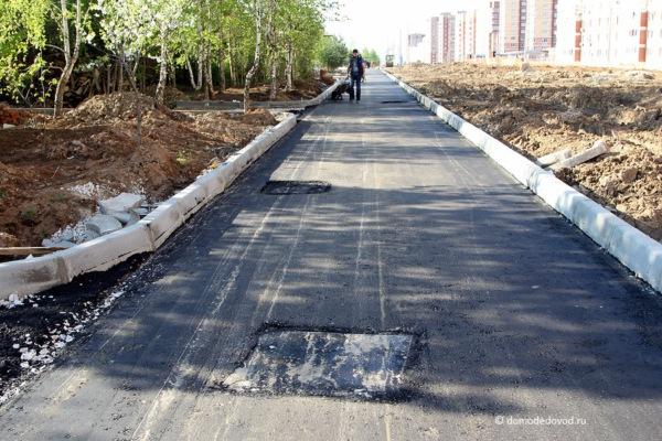 Улица Лунная. Строительство дороги под видом ремонта (6)