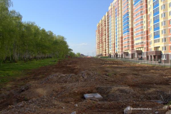 Улица Лунная. Строительство дороги под видом ремонта (2)
