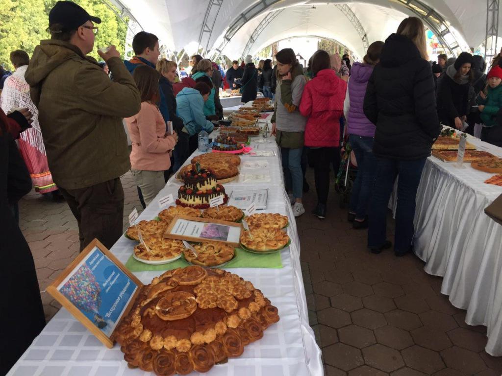 Фестиваль пирогов в Домодедово