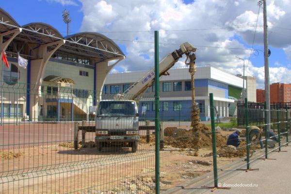 Реконструкция стадиона «Авангард» в Домодедово